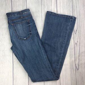 Current Elliott Flare Bottom Blue Jeans